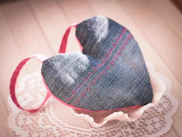 Heart beat stitch :)