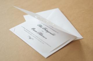 Inside the landscape invitation.