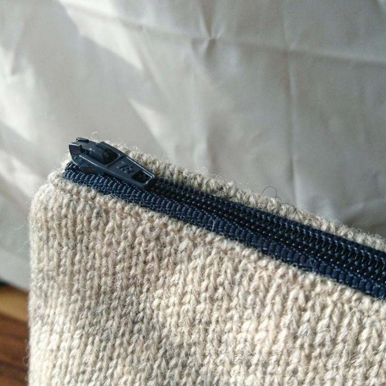 Wool & Paisley Purse